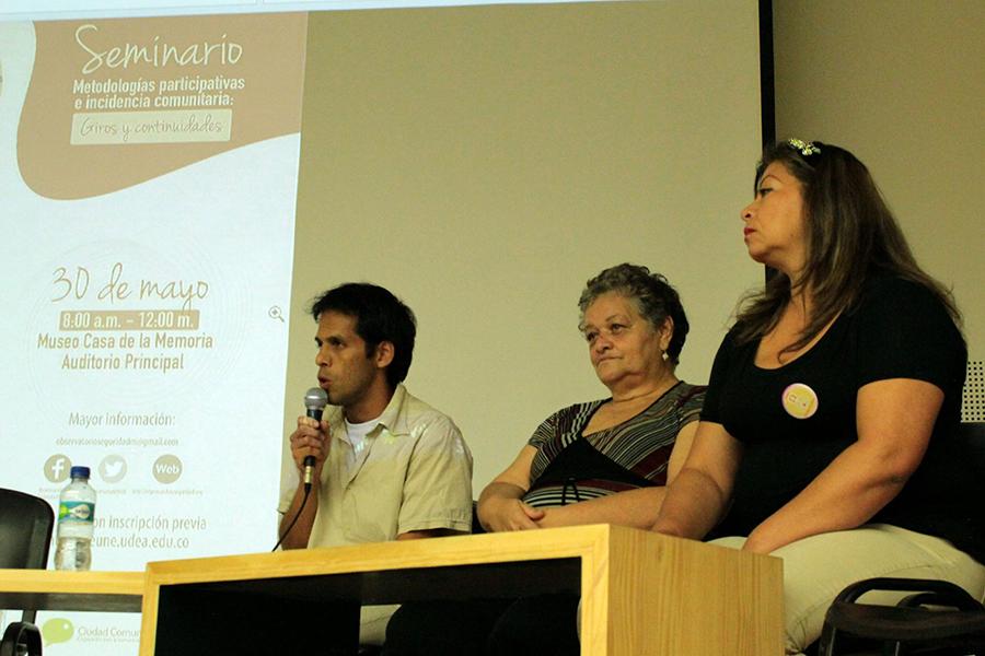 Balance positivo del Seminario Metodologías Participativas e Incidencia Comunitaria