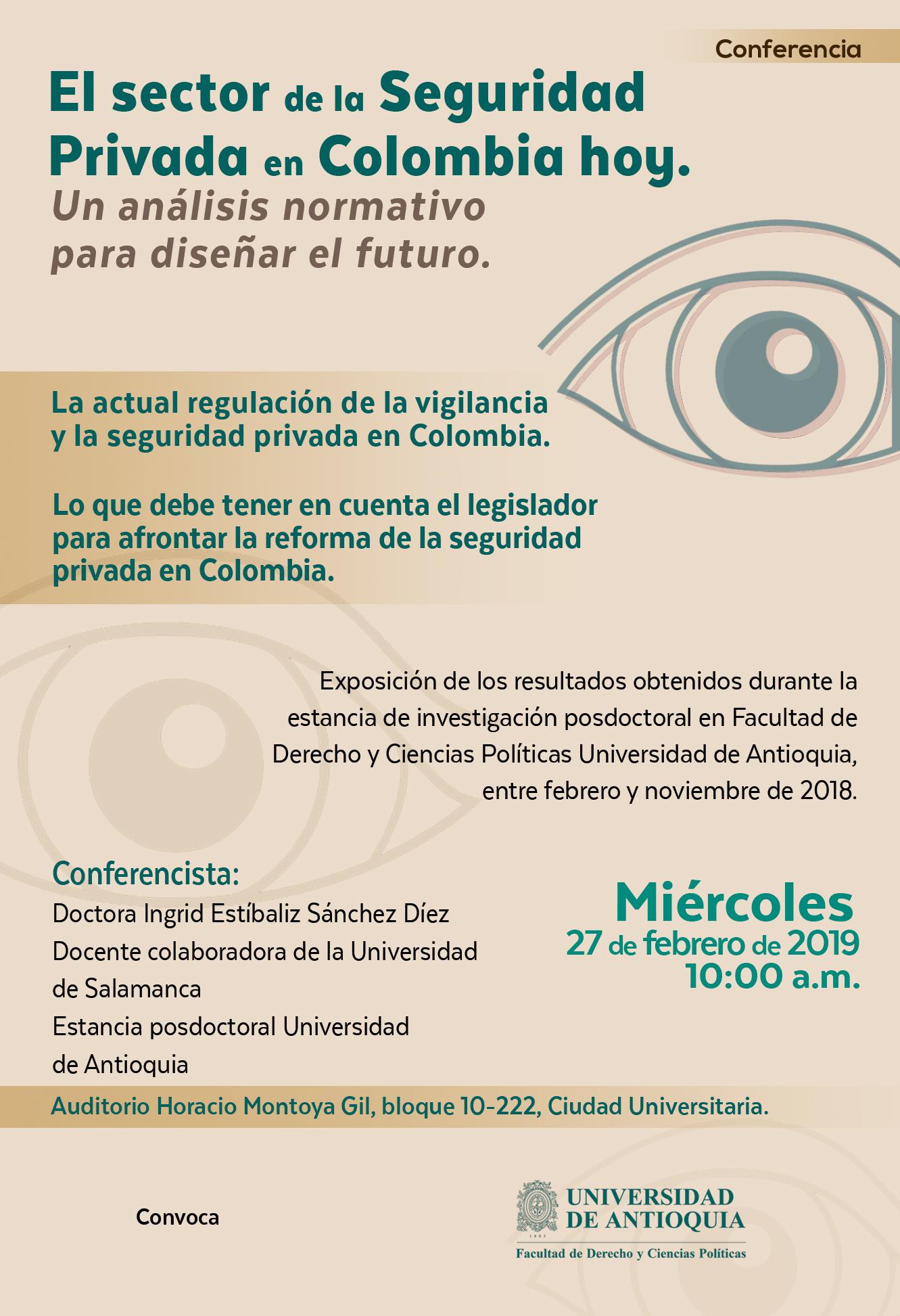 El sector de la Seguridad Privada en Colombia hoy