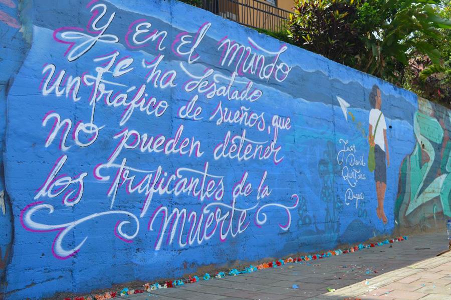 Juan David Quintana Duque, a un año de asesinado